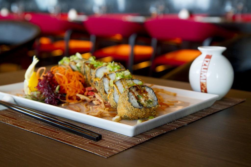 Izumi Hibachi & Sushi food