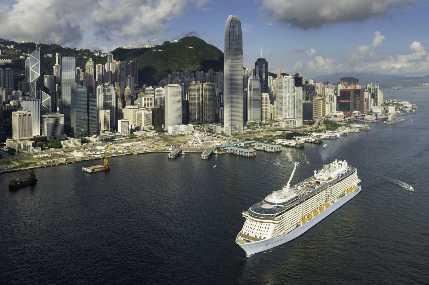Quantum Of The Seas Arrives In Hong Kong Cruise To Travel