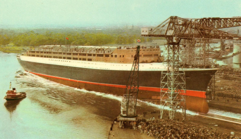 QE2 - Post card from the collection of Luís Miguel Correia