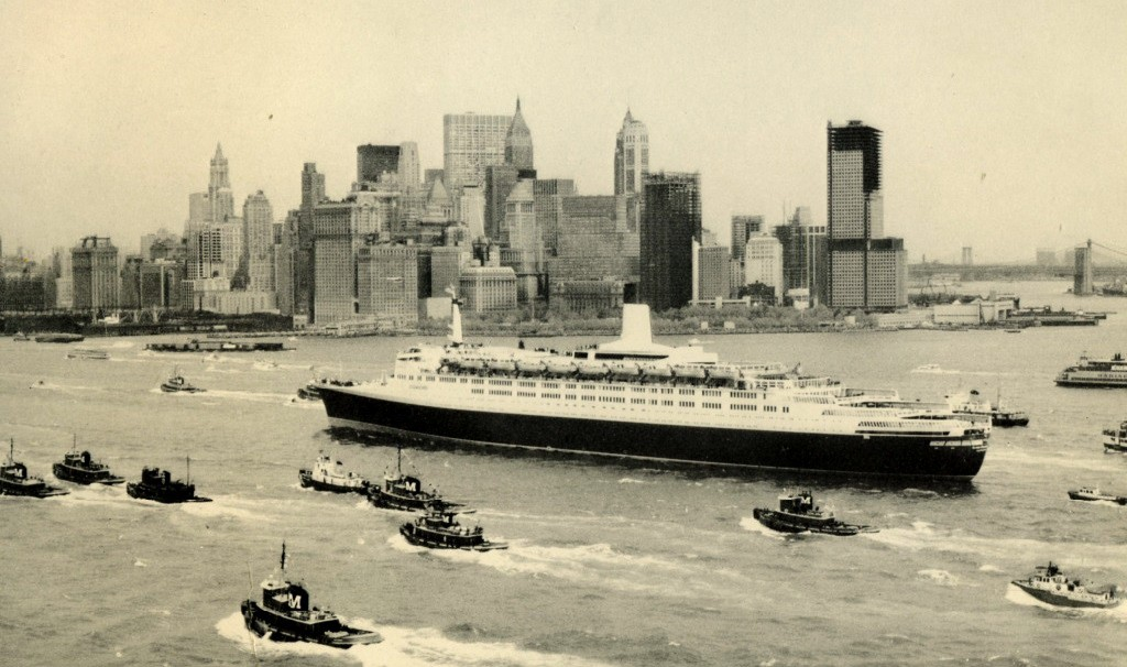 QE2 arrival NYC
