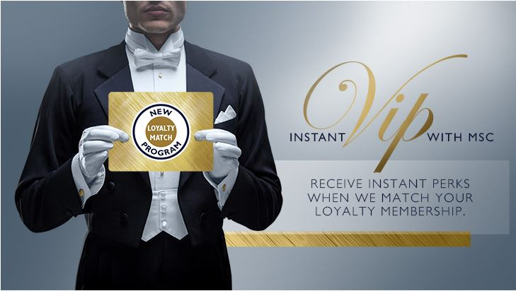 msc loyalty match program