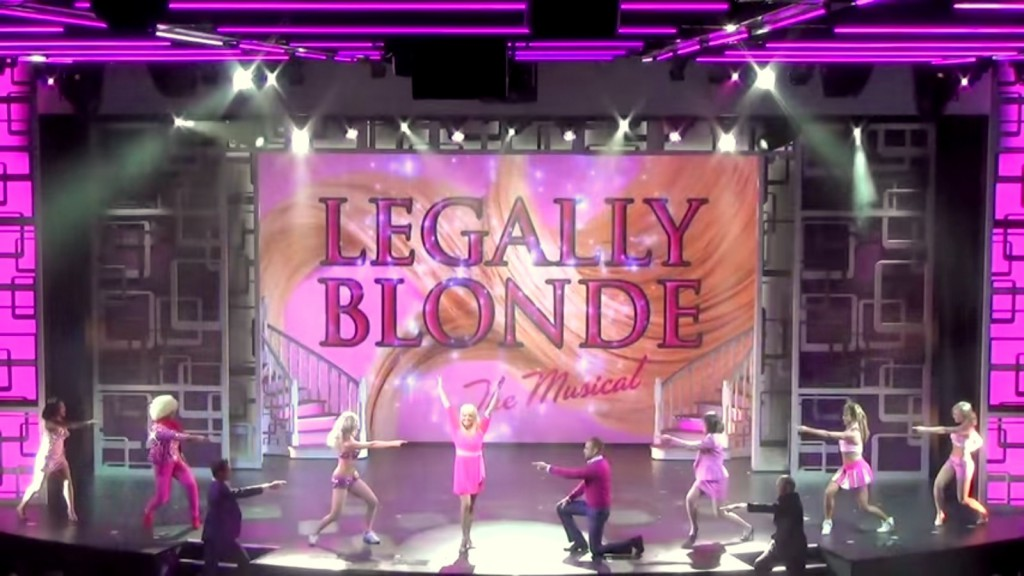 ncl getaway legally blonde