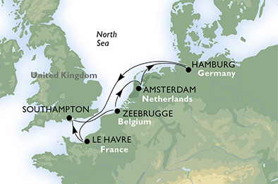 msc sept 2016 cruise route
