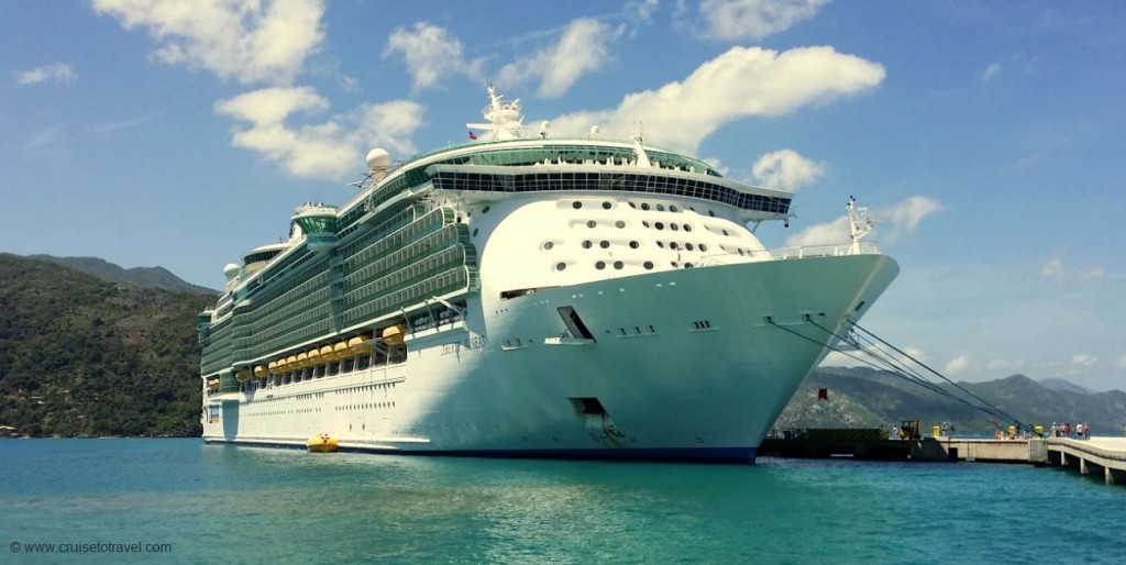 liberty of the seas in labadee(1)