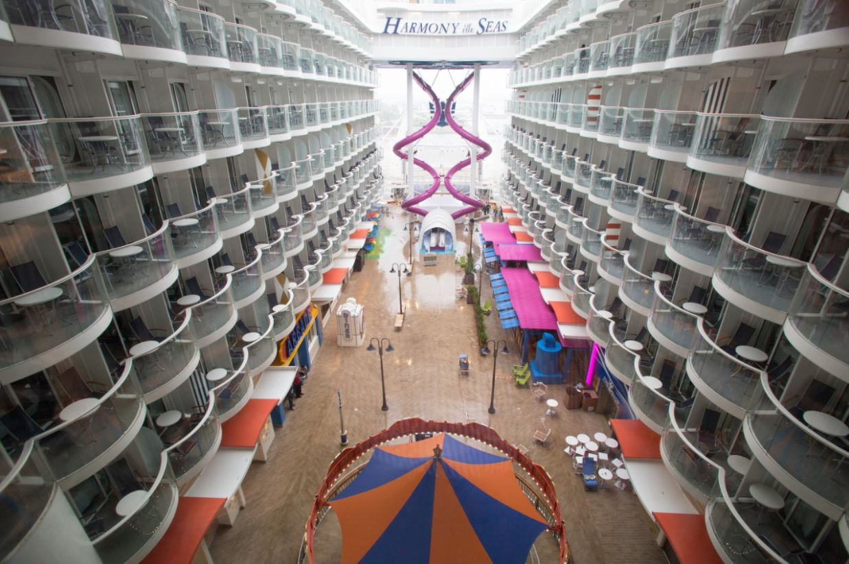 Inside Harmony Of The Seas Cruise To Travel