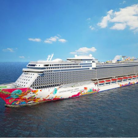 genting dream front