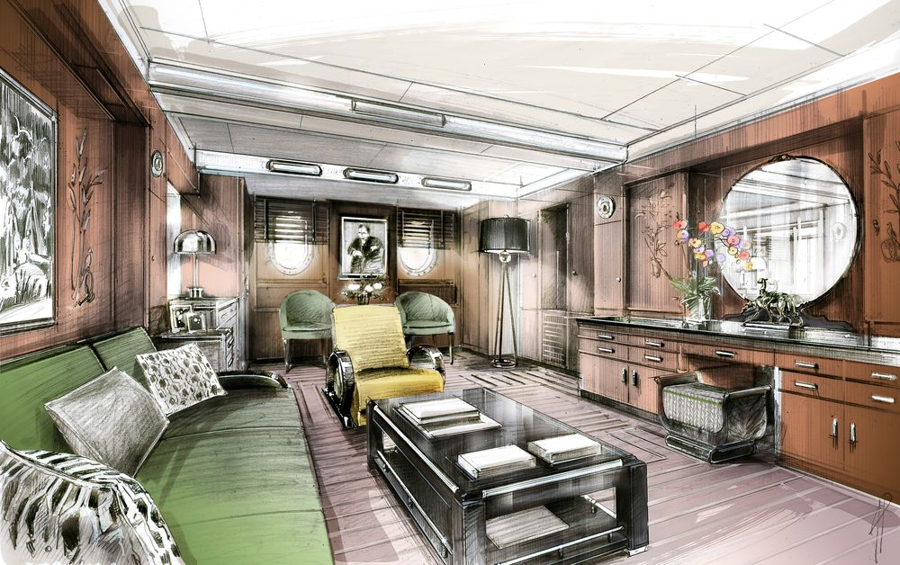 A Facelift For A Queen Renovating Queen Mary Cruise To