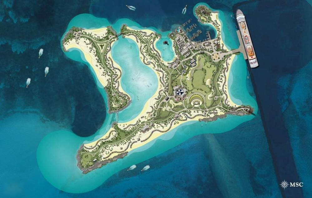 Paradise Delayed Msc S Ocean Cay To Open In October 2018