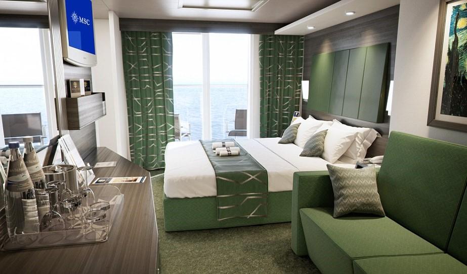 MSC Meraviglia, Family cabin
