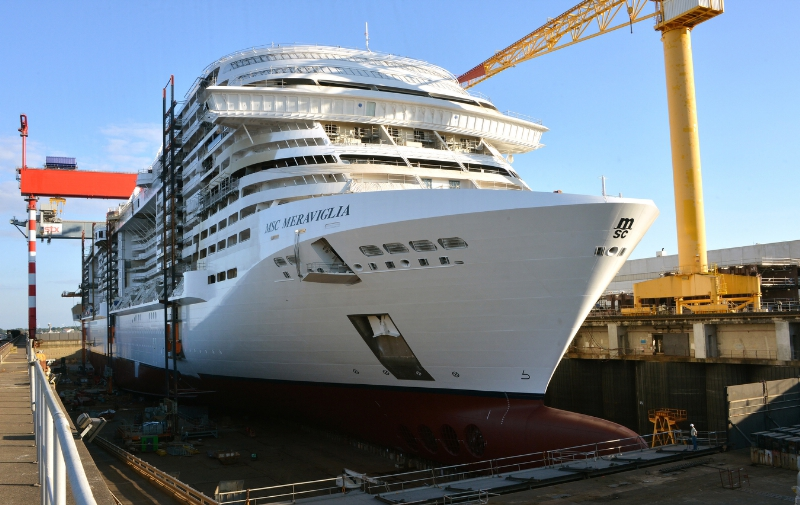 MSC Meraviglia, MSC Cruises next generation mega-ship