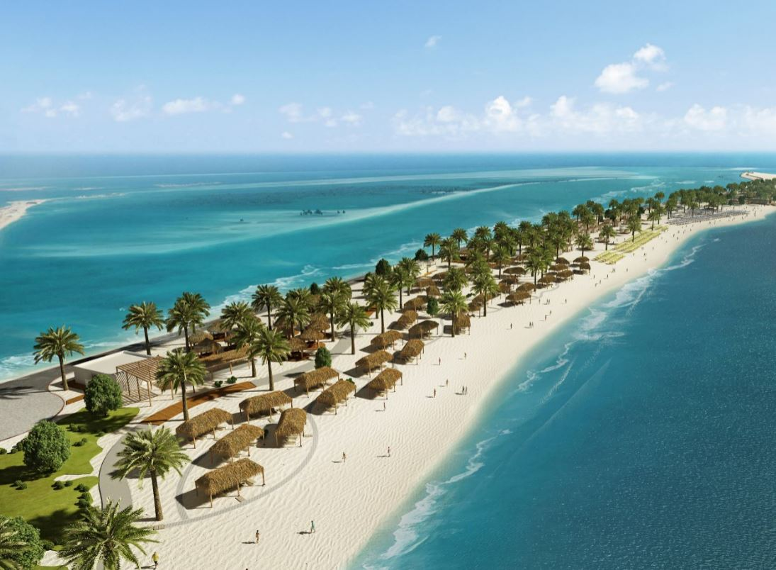 sir bani yas island a new beach oasis cruisetotravel. Black Bedroom Furniture Sets. Home Design Ideas