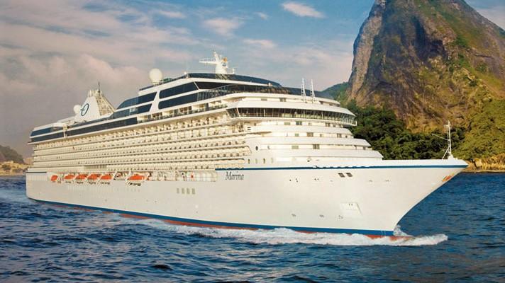 Marina Cruise Ship from Oceania Cruise Line