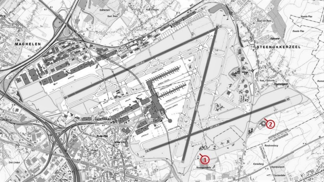 Plane Spotting At Brussels Airport CruiseToTravel - Brussels airport map