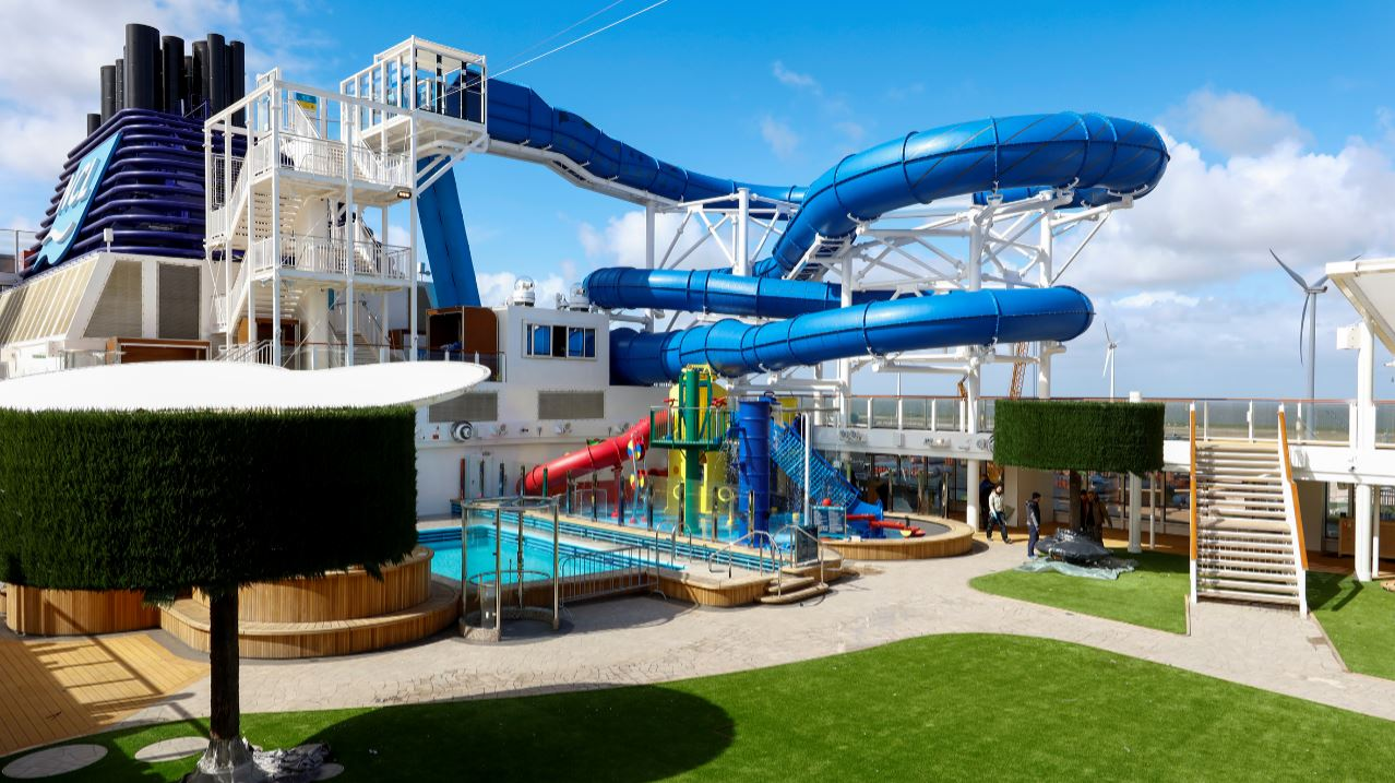 Norwegian Cruise Line Takes Delivery Of Norwegian Joy