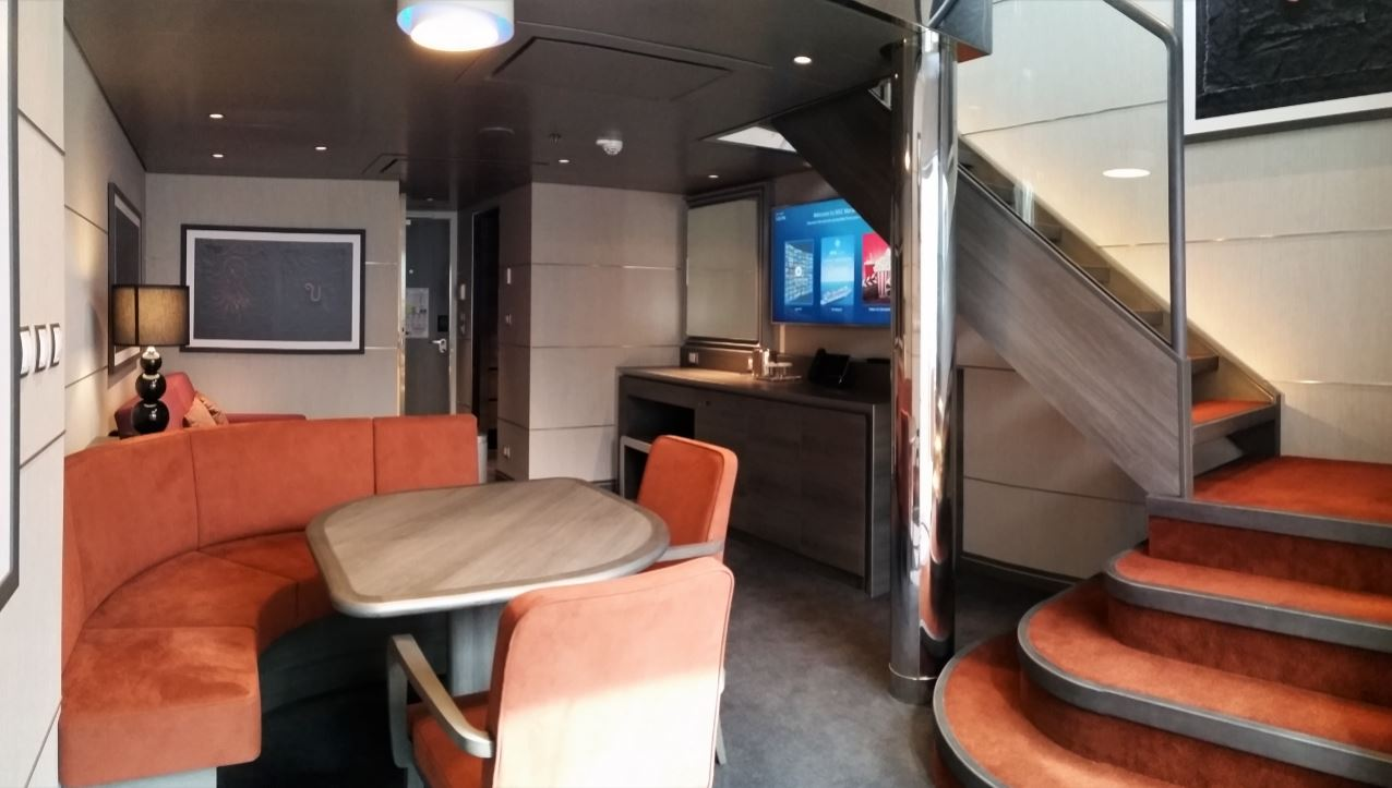A private look inside the staterooms onboard MSC