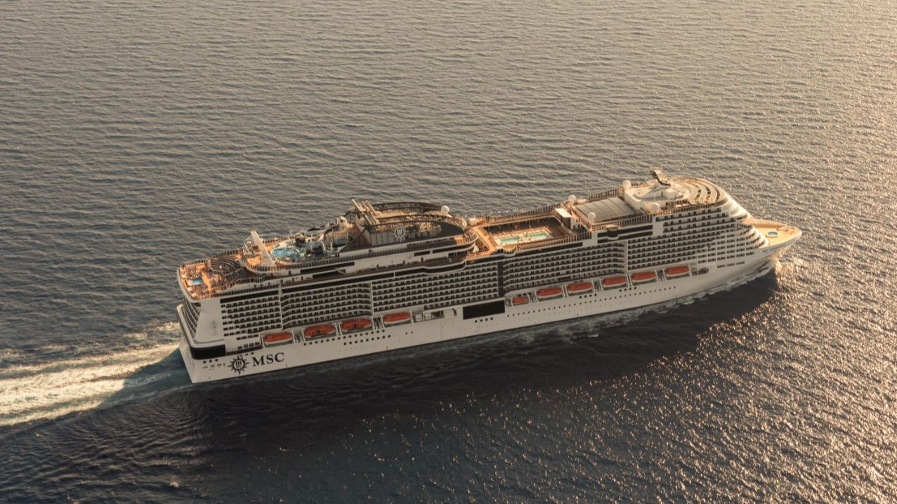 MSC Meraviglia, an Italian wonder from above – CruiseToTravel