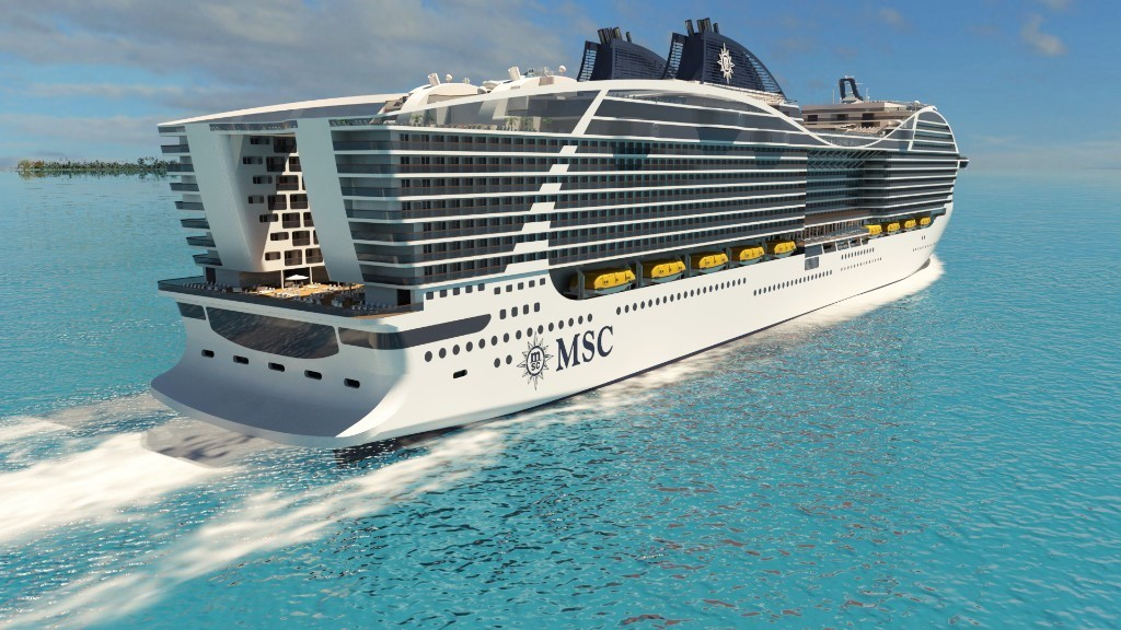 Msc Cruises Orders Lng Powered World Class Cruise Ships Cruisetotravel