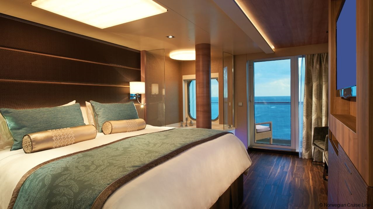 The Luxurious World Of The Haven By Norwegian Cruise To