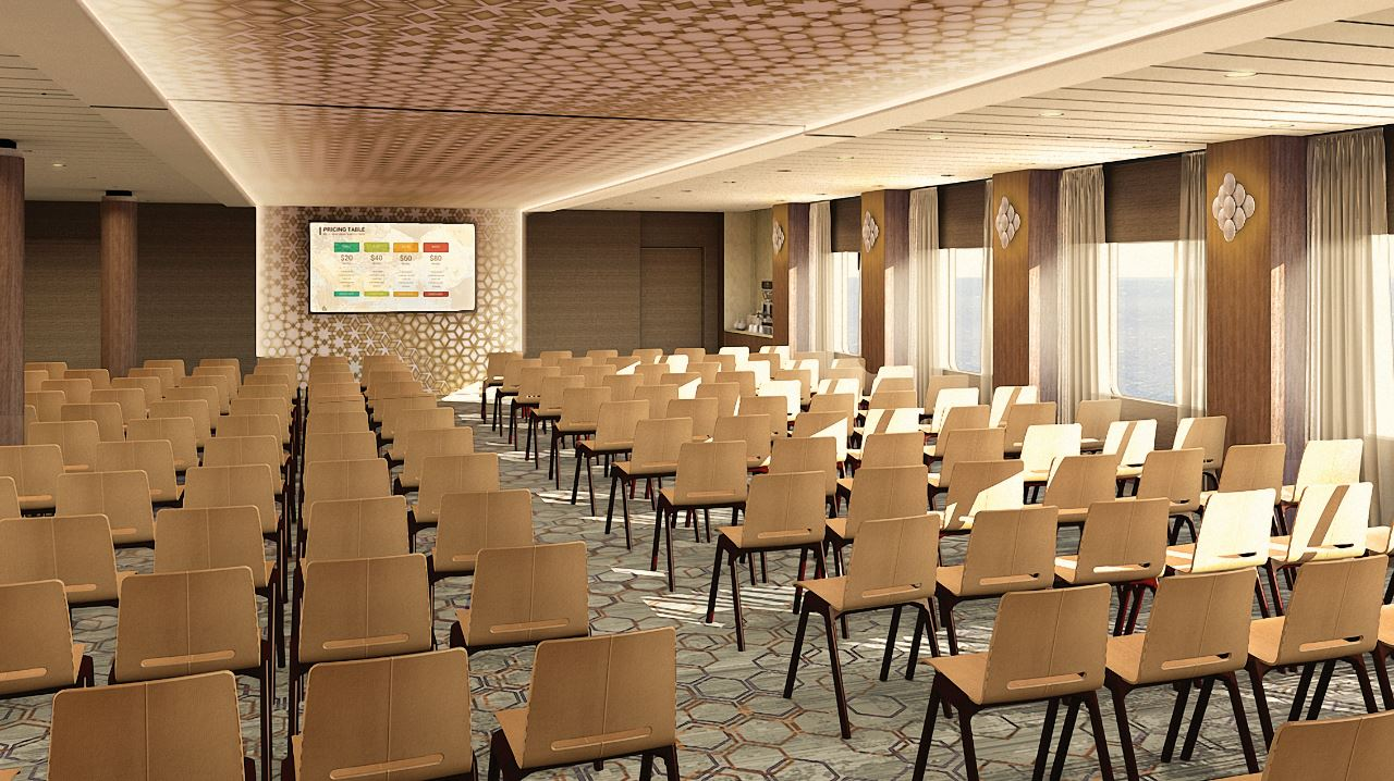 The Meeting Place Reinventing Cruise Ship Events Onboard