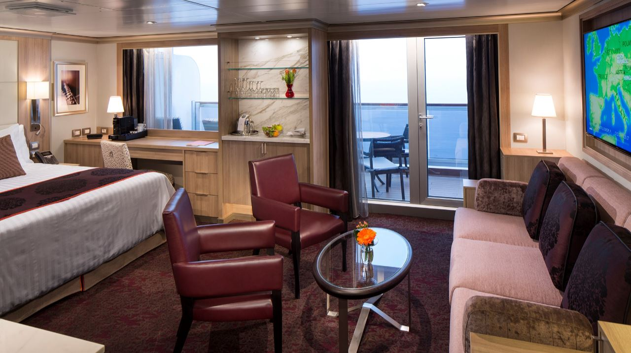 Artfully Inspired Staterooms And Suites Onboard Holland America Line S Nieuw
