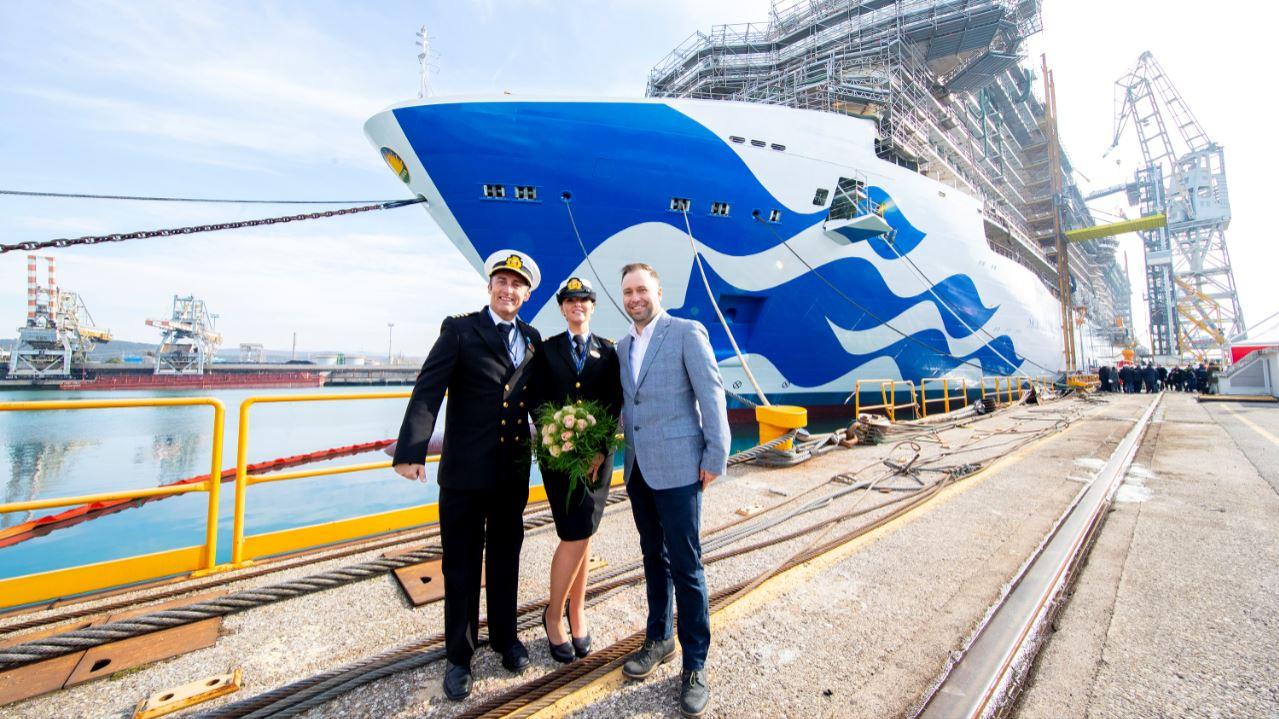 Princess Cruises Celebrates Major Milestones For Three New Ships Cruise To Travel