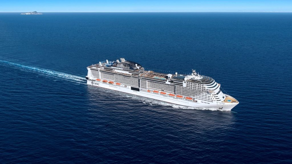 MSC Cruises voted 'Greenest Shipowner of the Year'