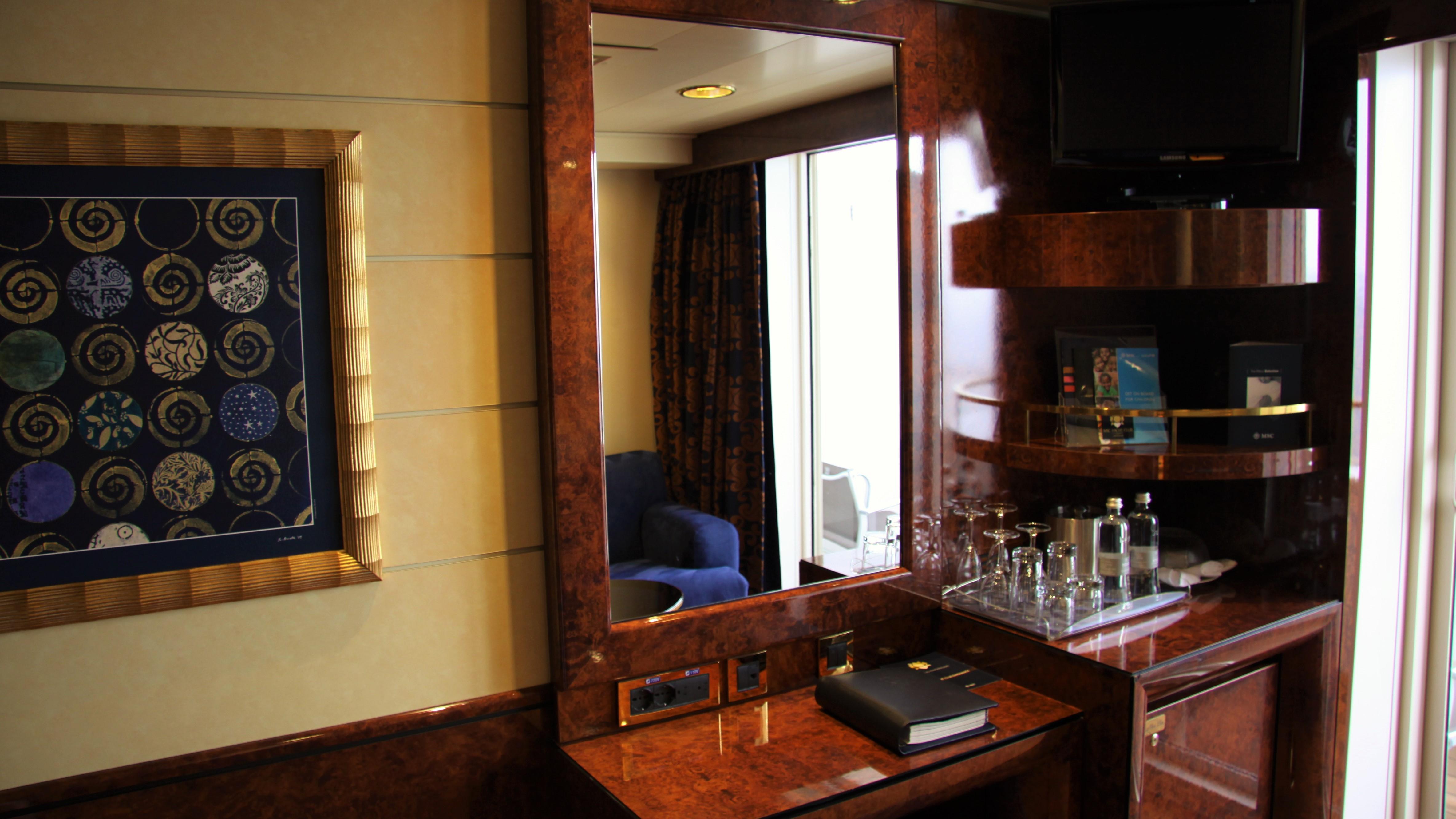 MSC Splendida: a mini cabin crawl – CRUISE TO TRAVEL