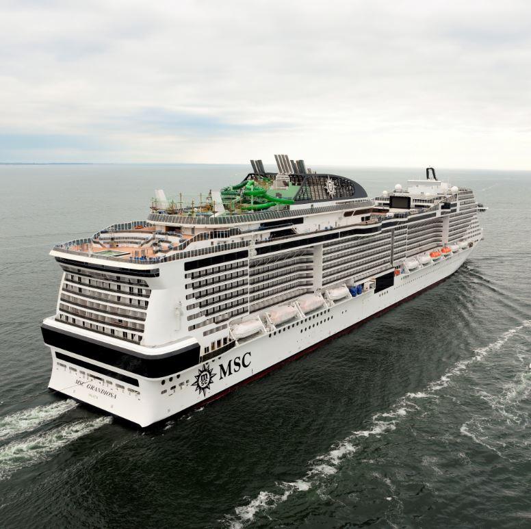 MSC Grandiosa completes sea trials – CRUISE TO TRAVEL