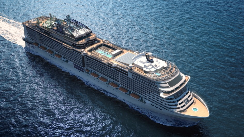 MSC Grandiosa to be christened during a four-day party in ...